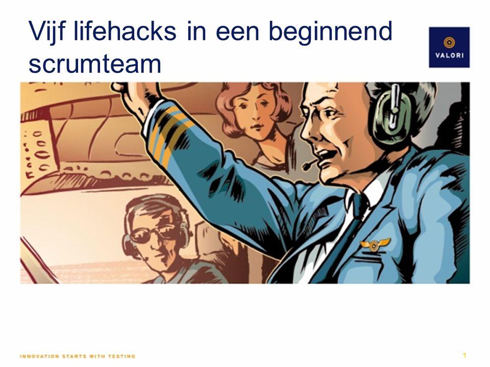 Vijf lifehacks in een beginnend scrumteam 1
