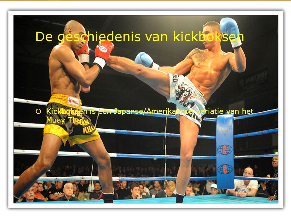 Wat is kickboksen.