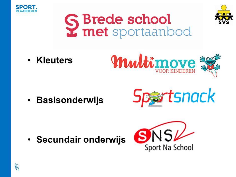 Kleuters Basisonderwijs Secundair onderwijs