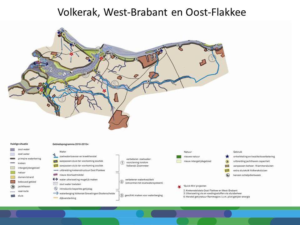 Volkerak, West-Brabant en Oost-Flakkee