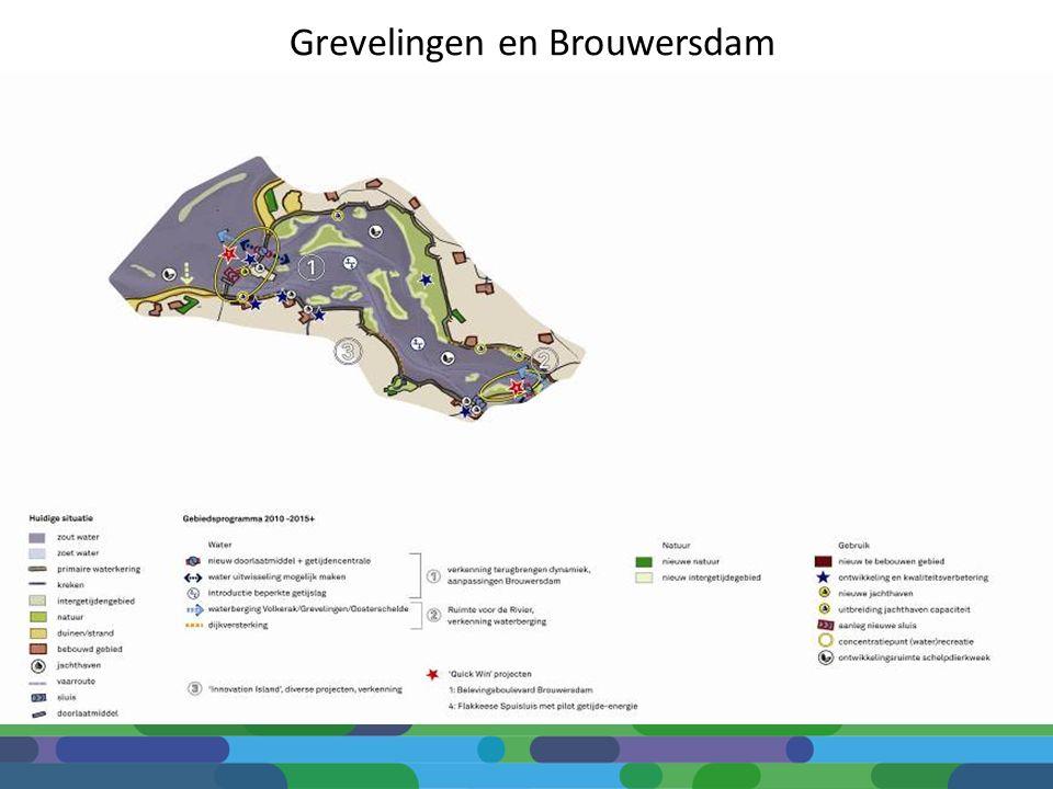Grevelingen en Brouwersdam