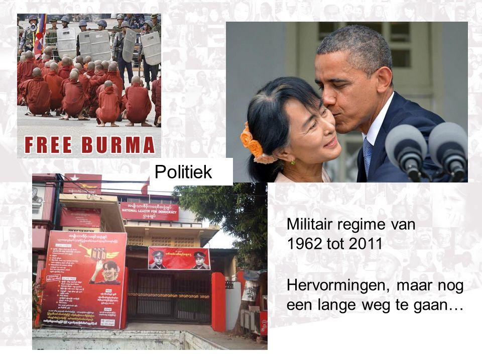 Militair regime van 1962 tot 2011 Hervormingen, maar nog een lange weg te gaan… Politiek
