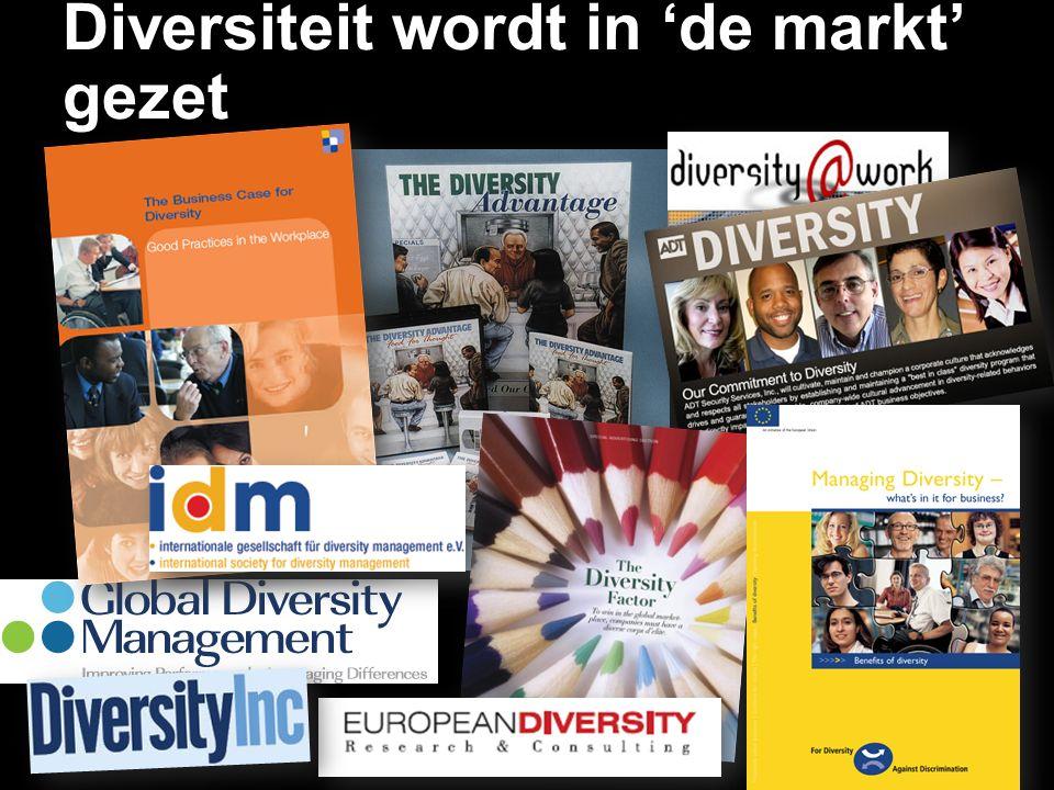 Diversiteit wordt in 'de markt' gezet