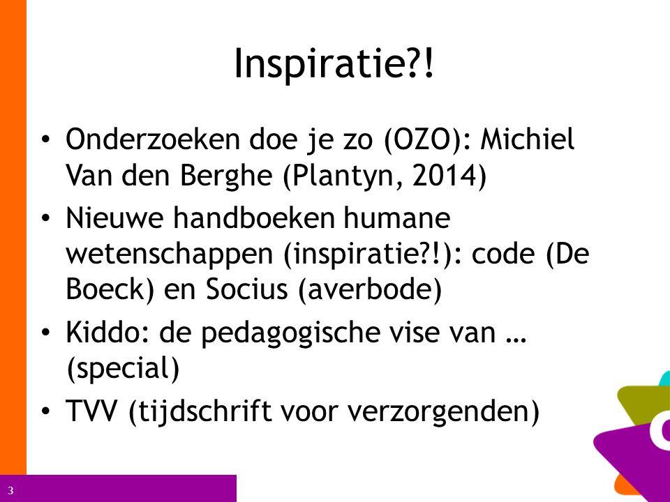 3 Inspiratie .