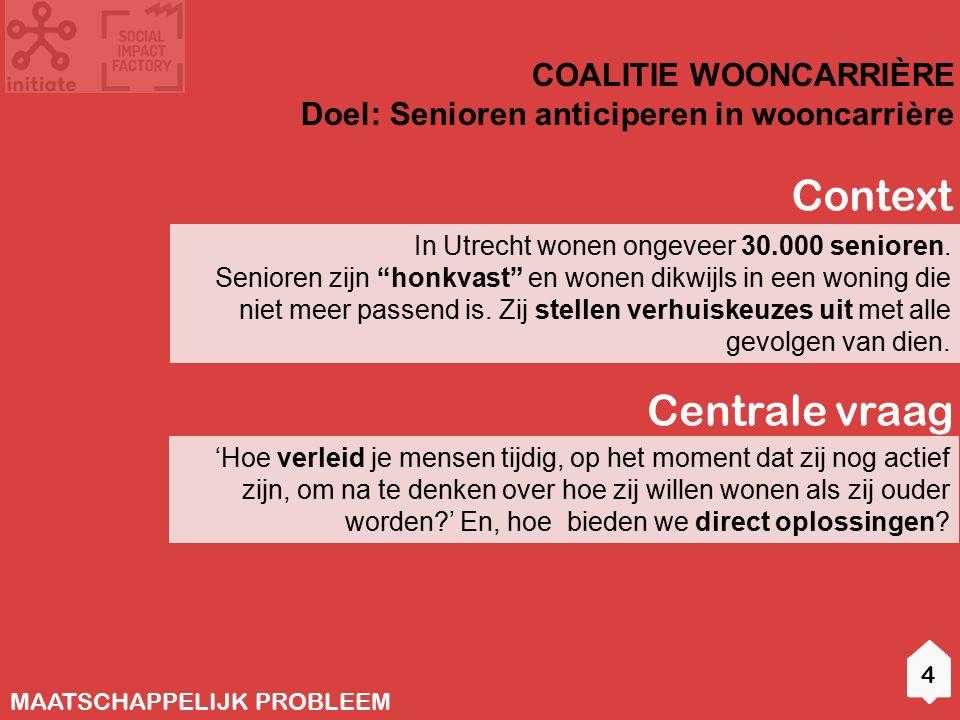 In Utrecht wonen ongeveer 30.000 senioren.