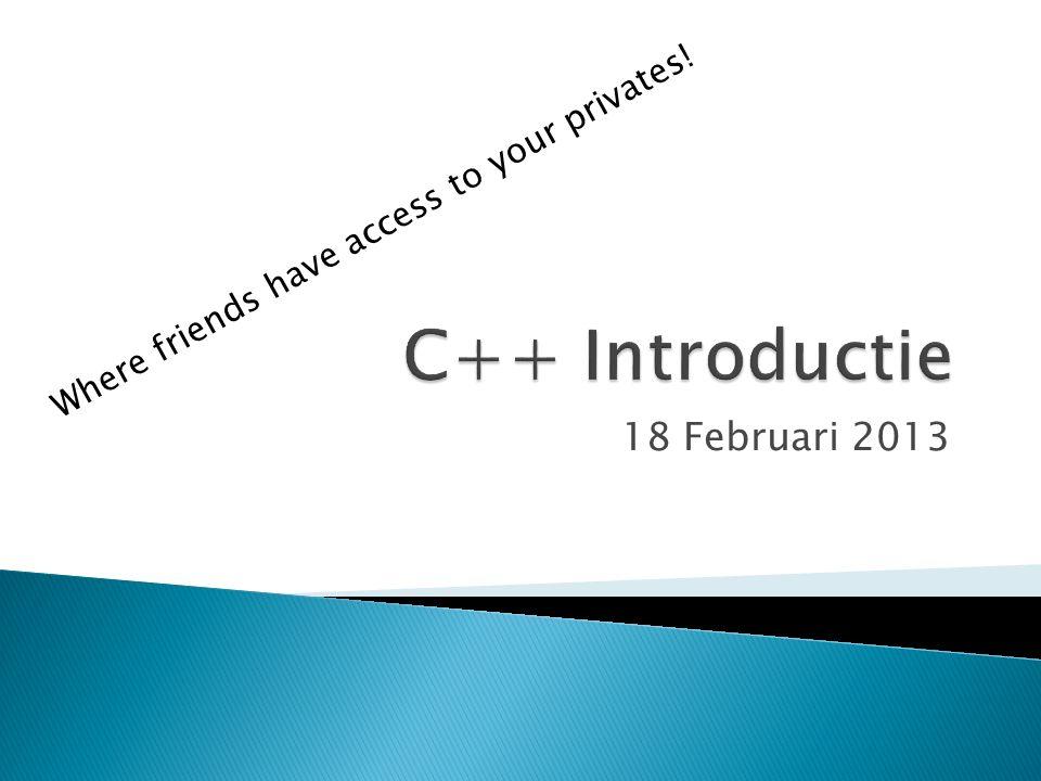 18 Februari 2013 Where friends have access to your privates!