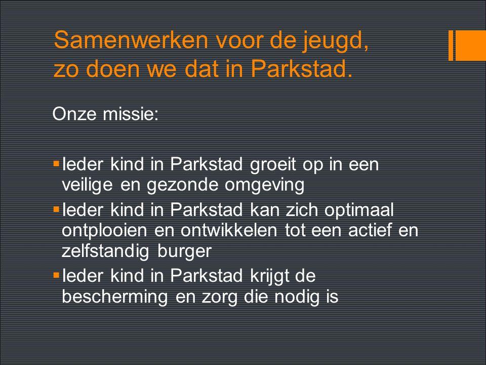 Samenwerken voor de jeugd, zo doen we dat in Parkstad.
