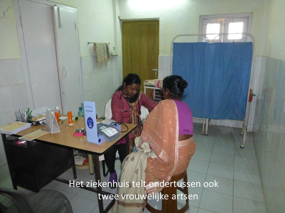 Het ziekenhuis telt ondertussen ook twee vrouwelijke artsen