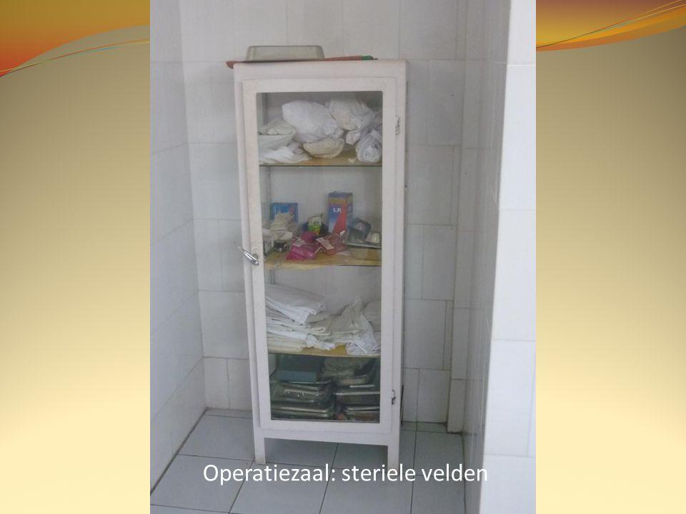 Operatiezaal: steriele velden