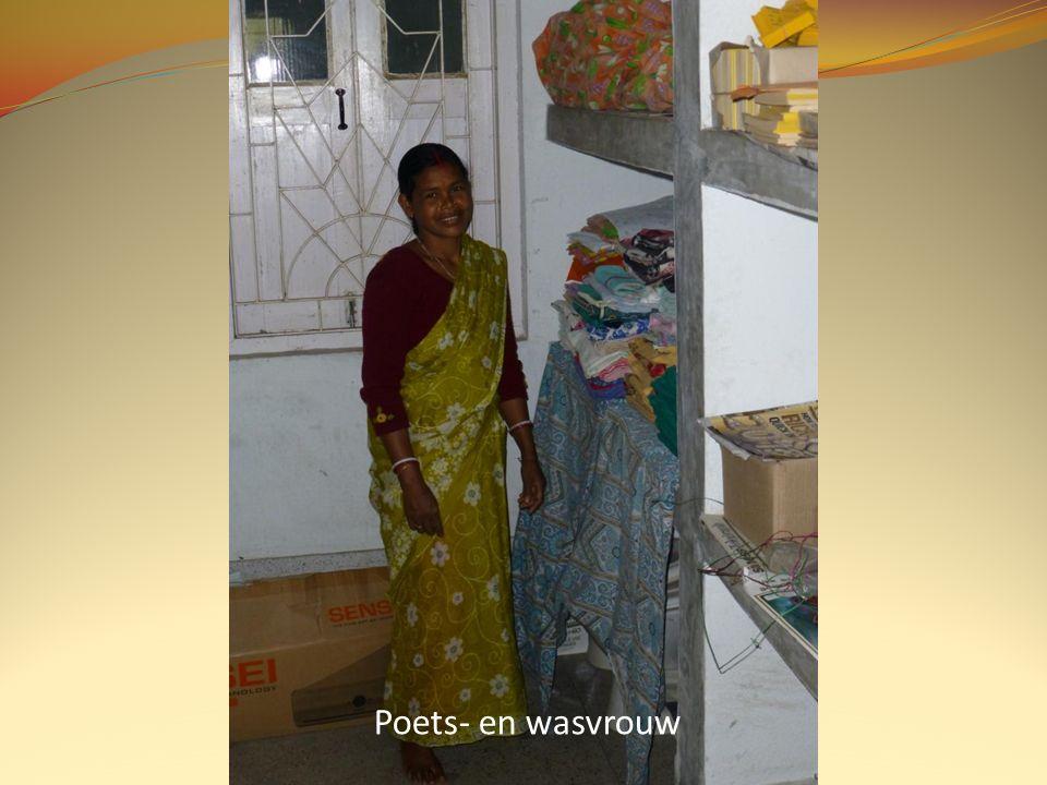 Poets- en wasvrouw