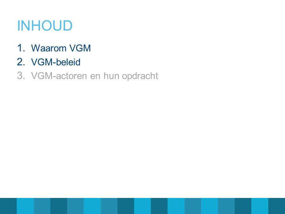 Niet naleven/toepassen VGM-procedures en richtlijnen.