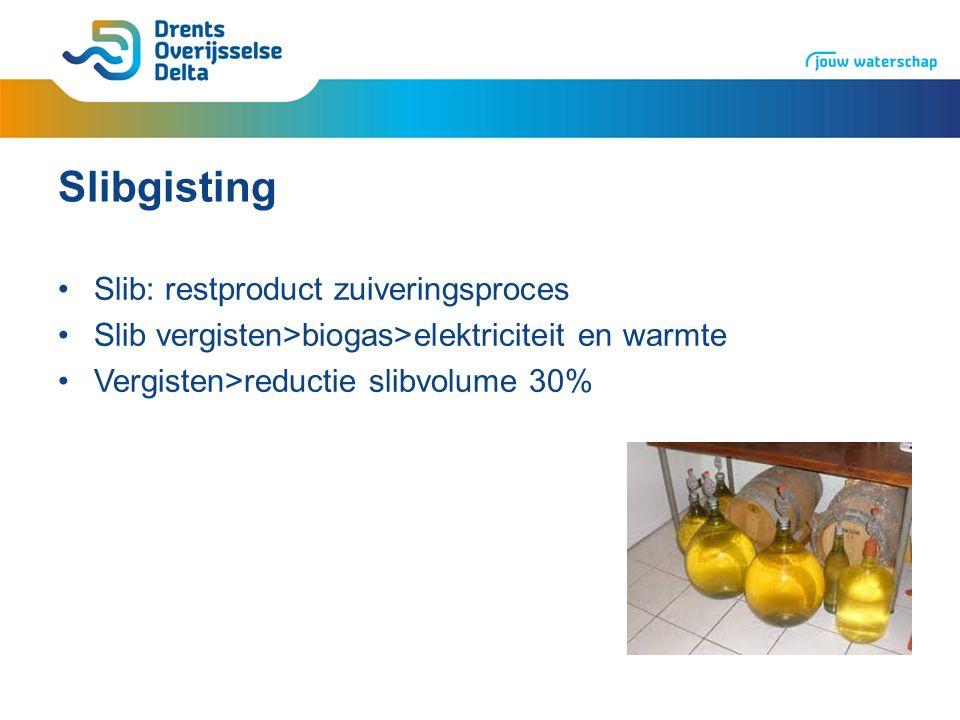 Aanleiding Gisting Zwolle overbelast en aantal onderdelen aan vervanging toe Vervangende capaciteit voor wegvallen Raalte Idee: gisting Kampen sluiten, slib naar Zwolle Invulling geven aan energie- en duurzaamheidsbeleid