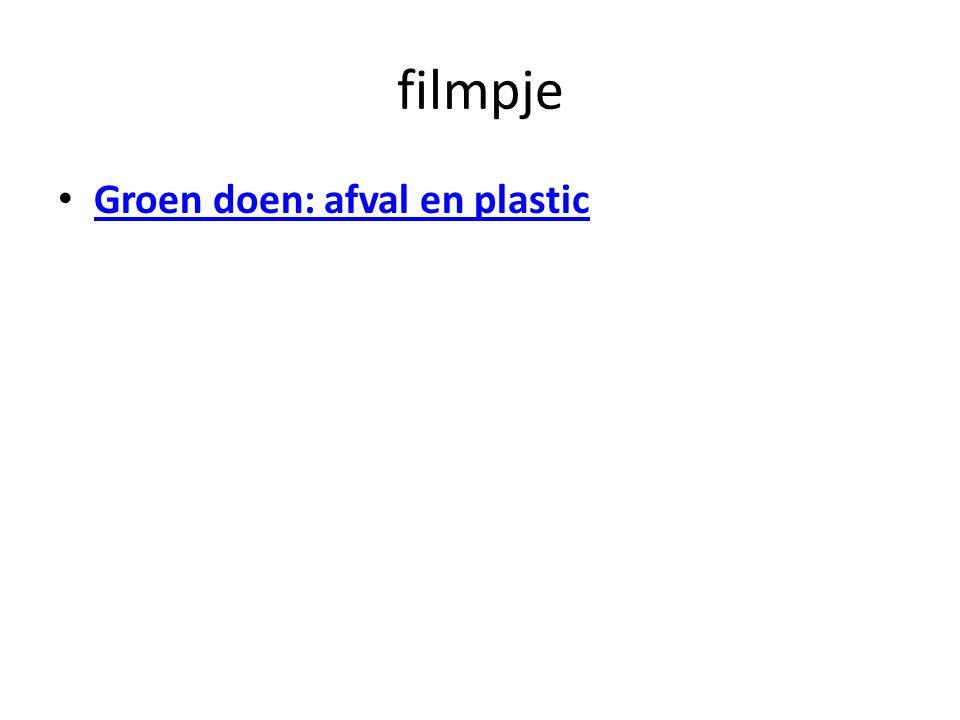 filmpje Groen doen: afval en plastic