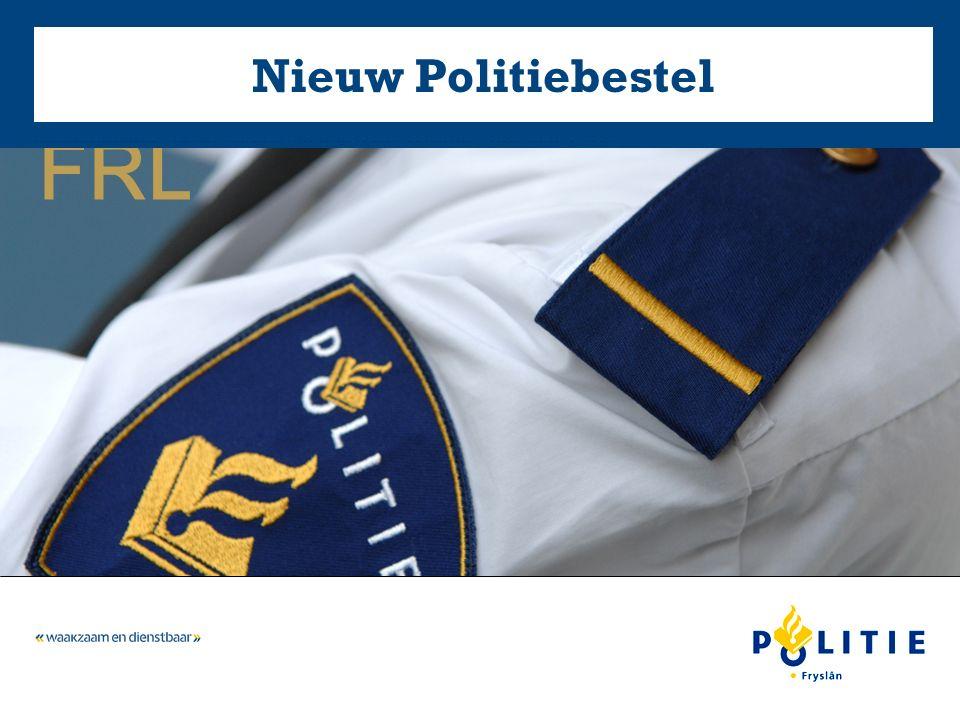 FRL Nieuw Politiebestel