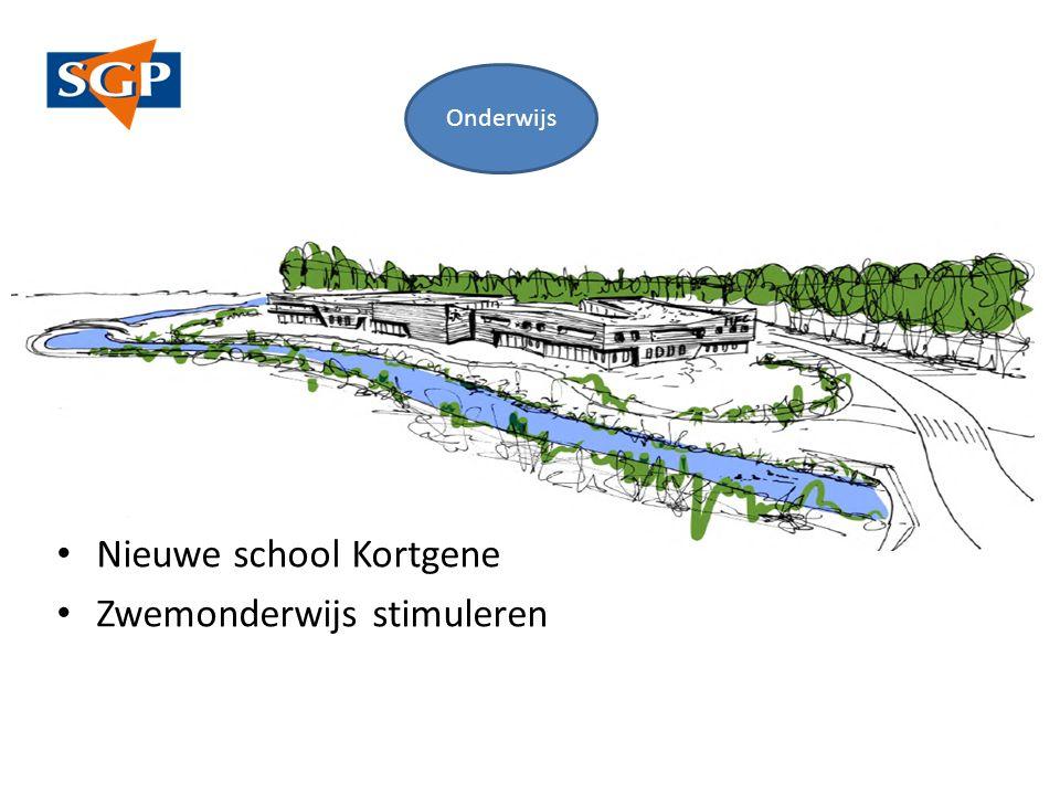 Nieuwe school Kortgene Zwemonderwijs stimuleren Onderwijs