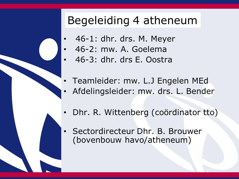 46-1: dhr. drs. M. Meyer 46-2: mw. A. Goelema 46-3: dhr.