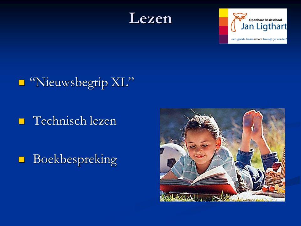 "Lezen ""Nieuwsbegrip XL"" ""Nieuwsbegrip XL"" Technisch lezen Technisch lezen Boekbespreking Boekbespreking"