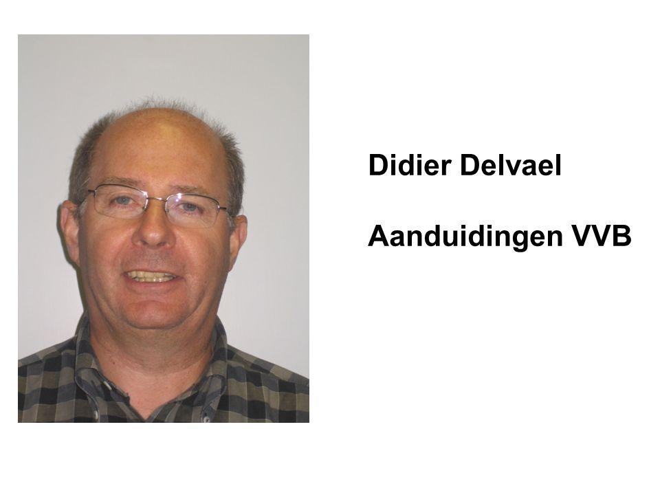 Didier Delvael Aanduidingen VVB