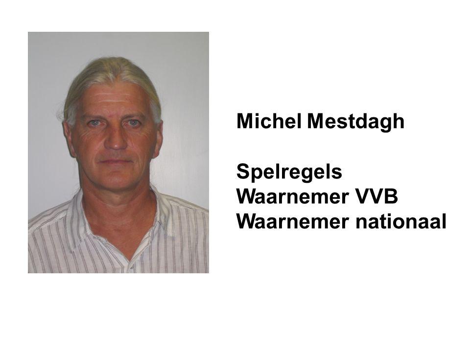 Michel Mestdagh Spelregels Waarnemer VVB Waarnemer nationaal