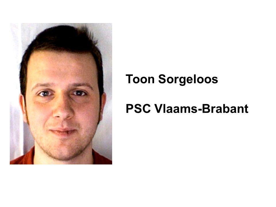 Toon Sorgeloos PSC Vlaams-Brabant