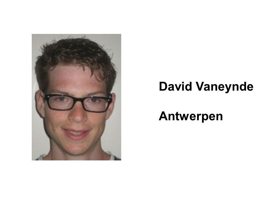 David Vaneynde Antwerpen