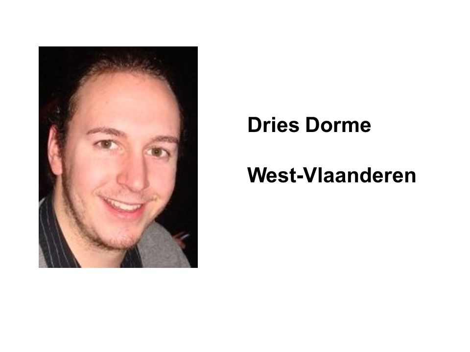 Dries Dorme West-Vlaanderen