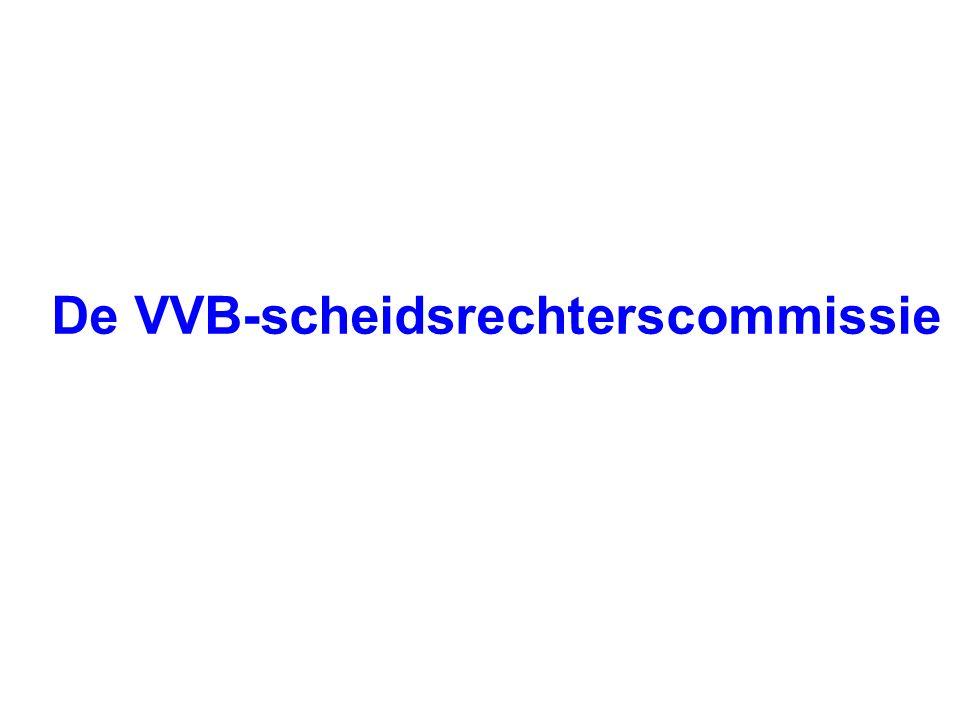 De VVB-scheidsrechterscommissie