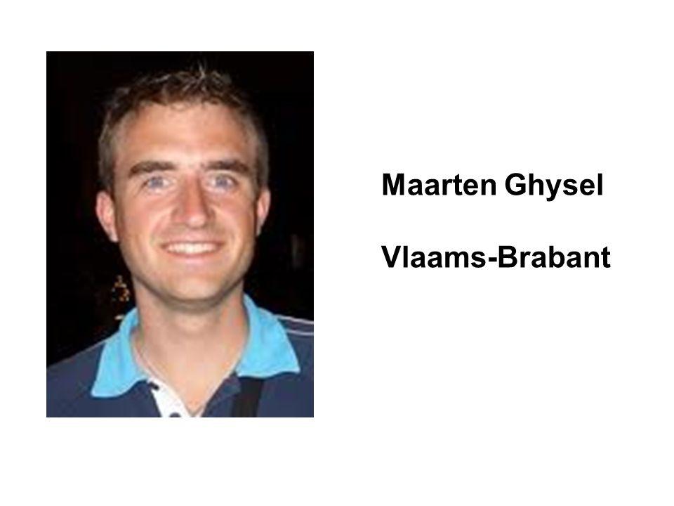 Maarten Ghysel Vlaams-Brabant
