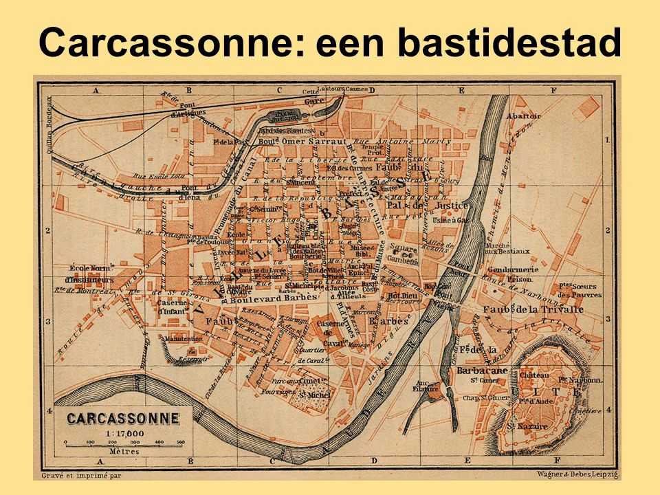 Carcassonne: een bastidestad
