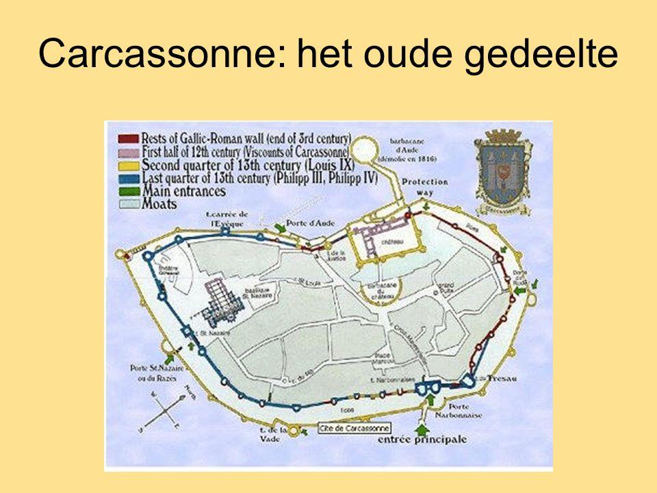 Carcassonne: het oude gedeelte