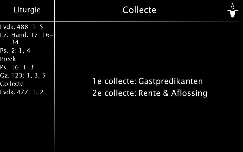 Liturgie Lvdk.488: 1-5 Lz.Hand.