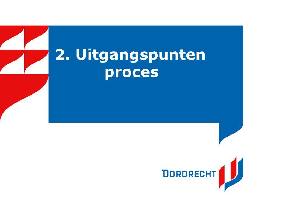 2. Uitgangspunten proces