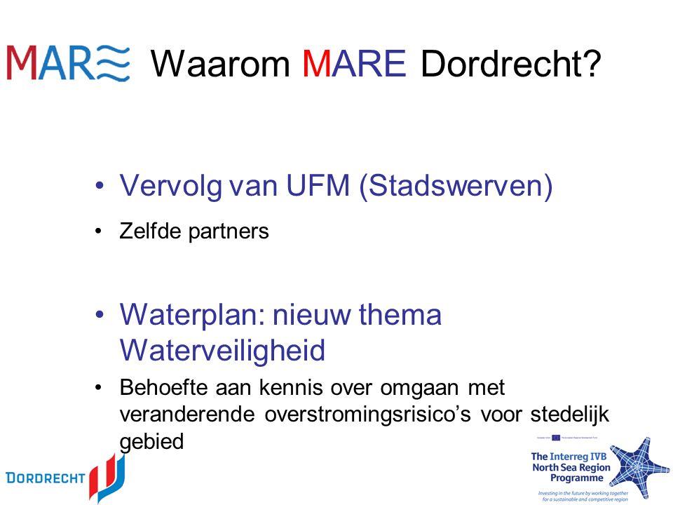 Waarom MARE Dordrecht.