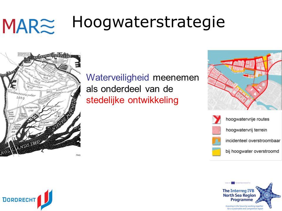 Water in de stad Ontwikkelen van strategieën om de wateroverlast door hevige regen te voorkomen.