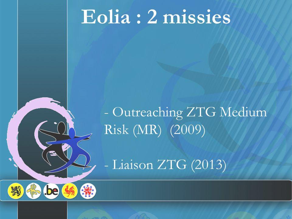 - Realisatie van 2 missies - MR-populatie en heterogene profielen - 2 interventie-niveaus