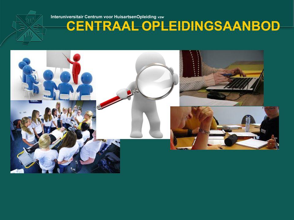 CENTRAAL OPLEIDINGSAANBOD