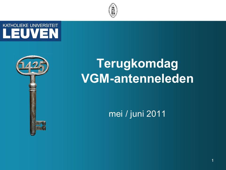 1 Terugkomdag VGM-antenneleden mei / juni 2011