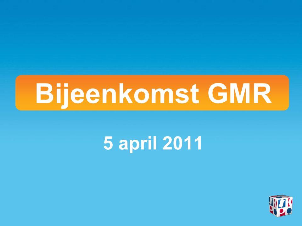 Bijeenkomst GMR 5 april 2011