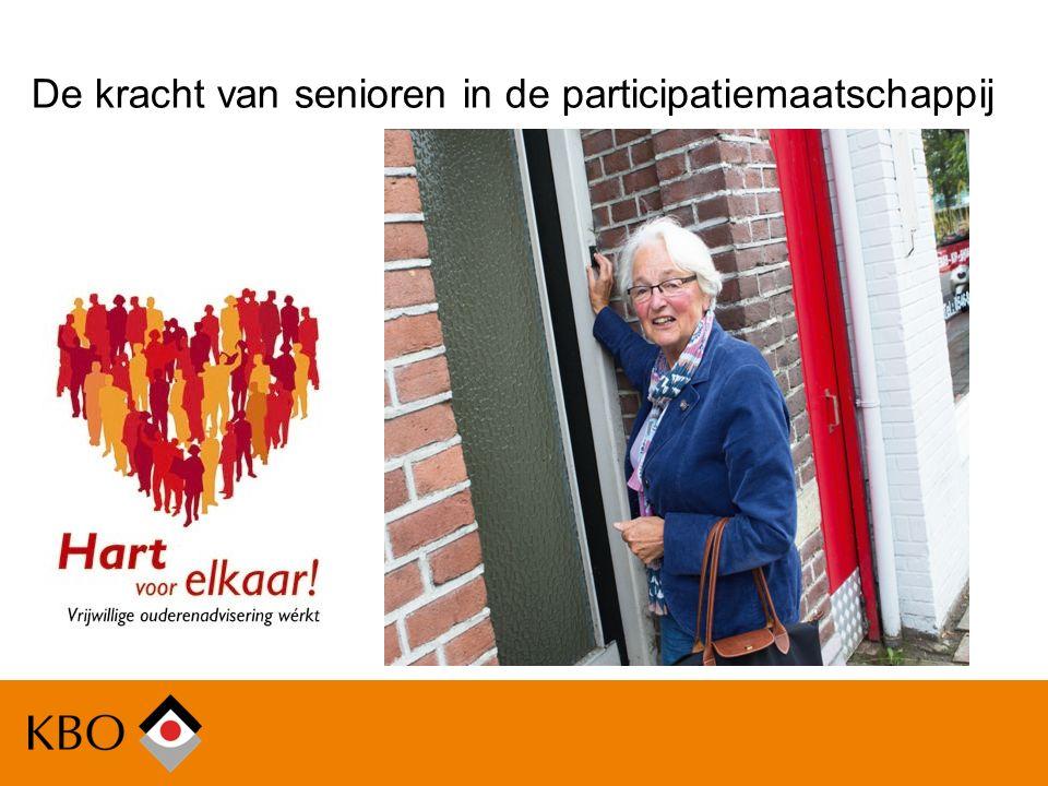 Vragen & discussie De kracht van senioren in de participatiemaatschappij