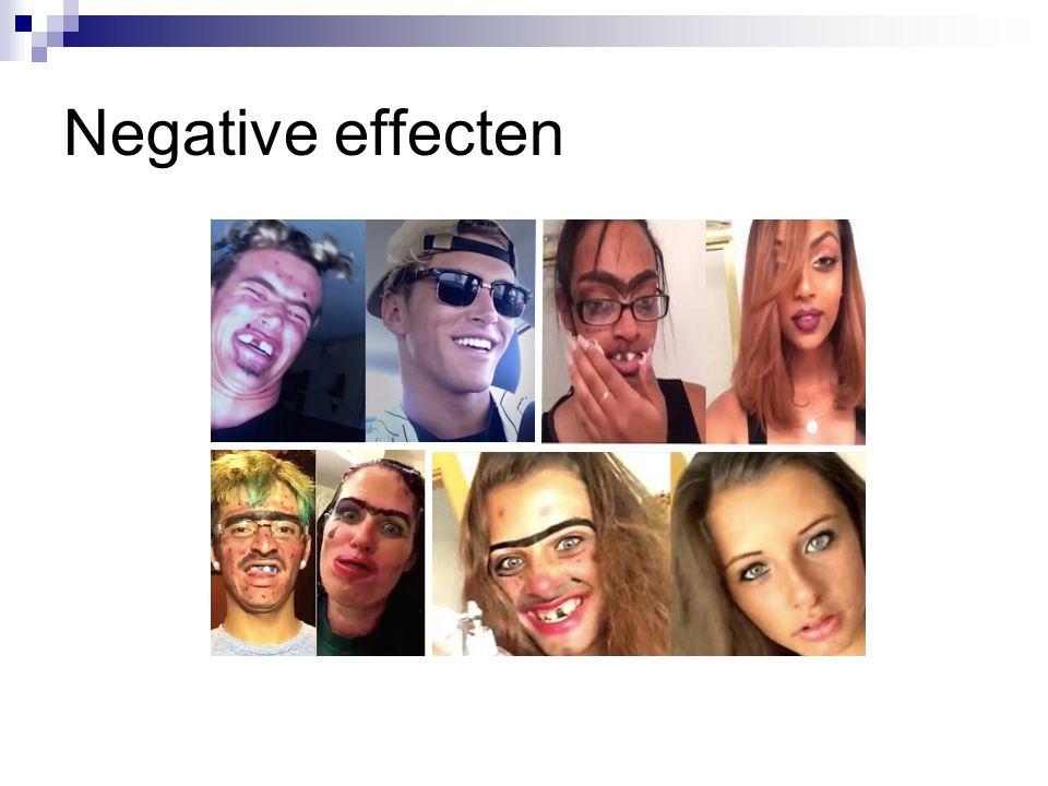 Negative effecten