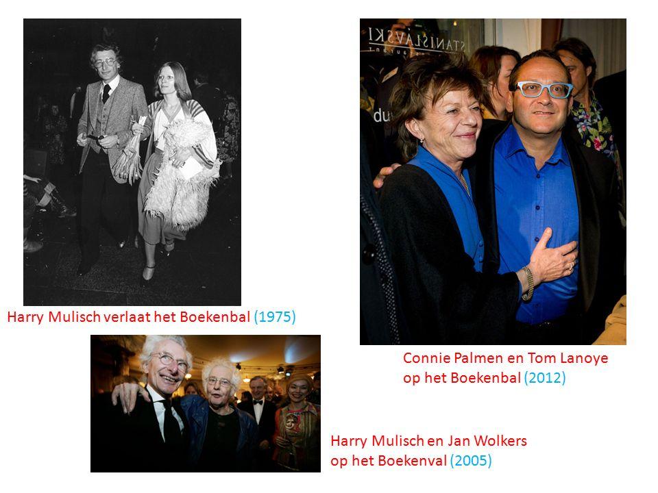Connie Palmen en Tom Lanoye op het Boekenbal (2012) Harry Mulisch en Jan Wolkers op het Boekenval (2005) Harry Mulisch verlaat het Boekenbal (1975)