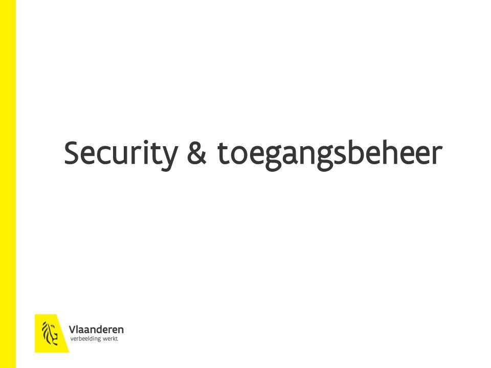 Security & toegangsbeheer
