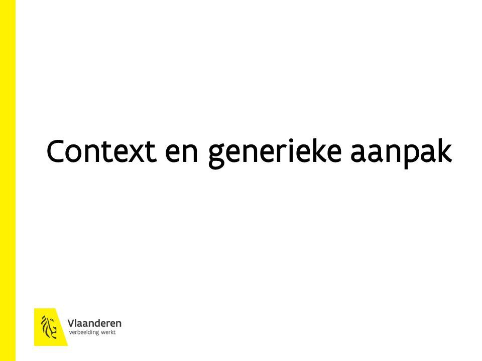 Context en generieke aanpak
