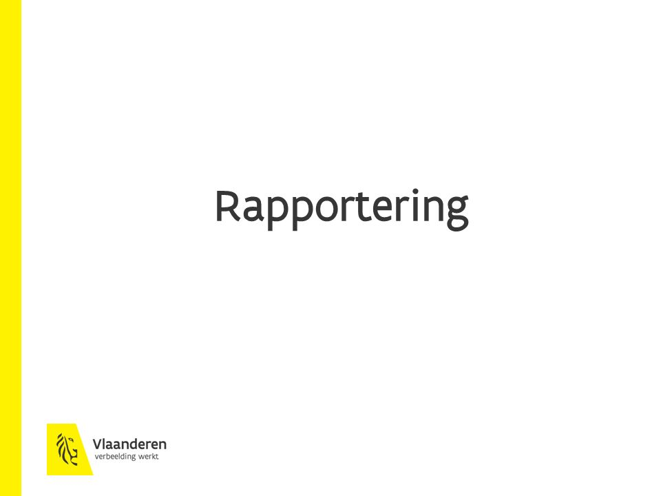 Rapportering