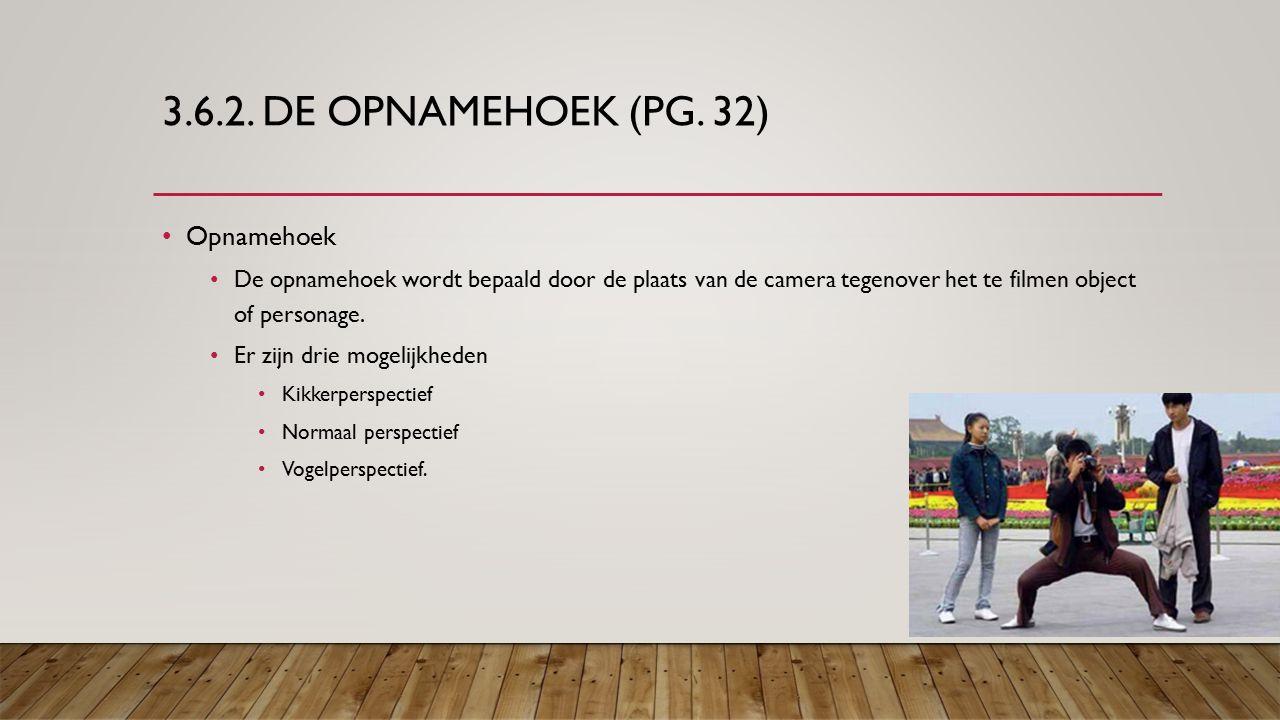3.6.2. DE OPNAMEHOEK (PG.