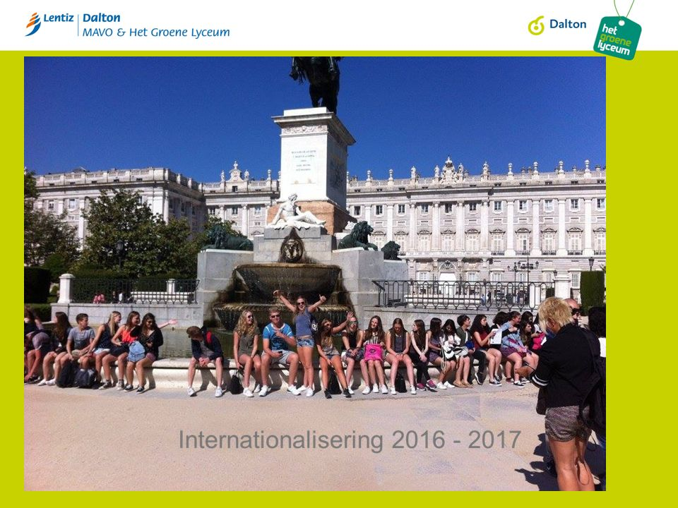 Lentiz Dalton MAVO Internationalisering 2016 - 2017