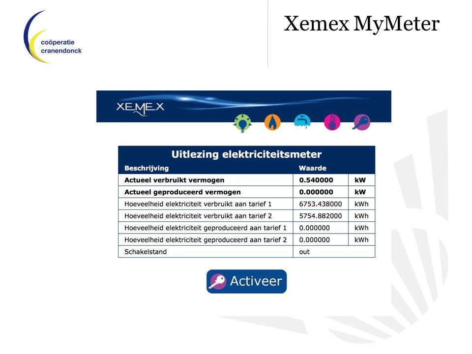 Xemex MyMeter