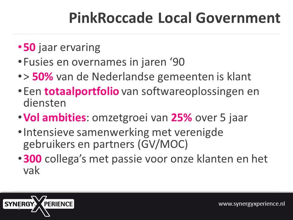 www.synergyxperience.nl 4 De koers van ons nieuwe bedrijf