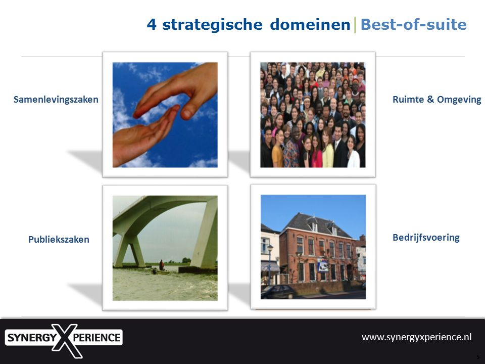www.synergyxperience.nl U kunt deze en alle andere presentaties terug zien op: www.synergyxperience.nl
