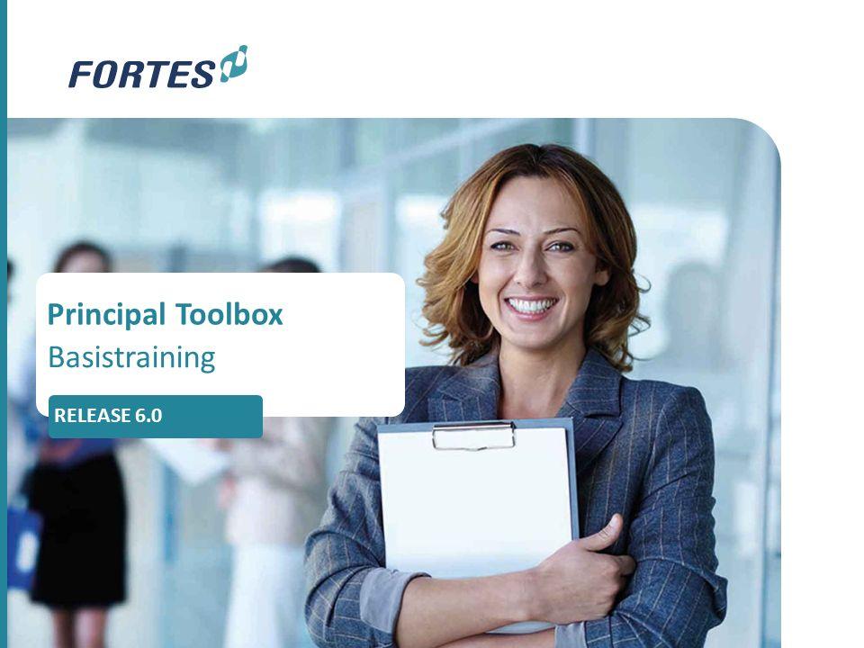 Principal Toolbox Basistraining RELEASE 6.0